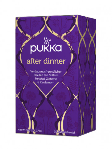 After Dinner Tee bio, 20 Teebeutel à 1,8 g (36 g) von Pukka Herbs