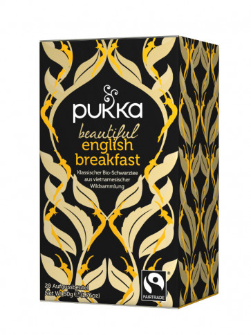 Beautiful English Breakfast Tee bio 36 g von Pukka Herbs