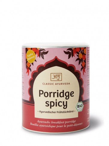 Porridge spicy, Kapha, bio