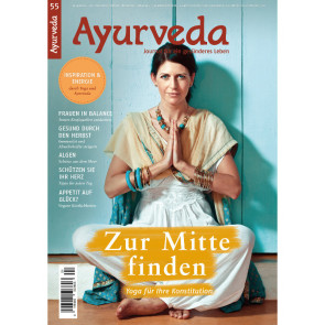 Ayurveda Journal Heft 55 - Yoga & Ayurveda