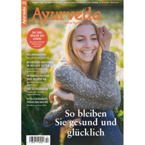 Ayurveda Journal 65 - Gesundheitsprävention