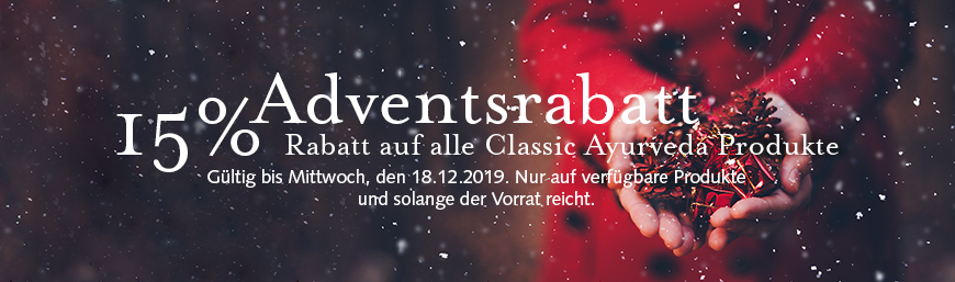 15% Adventsrabatt